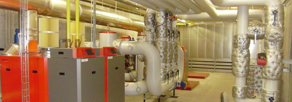 Installaties geisoleerd met isolatiematrassen
