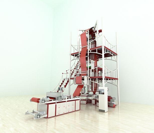 9 laags blaasfolie-extruder MX-B980